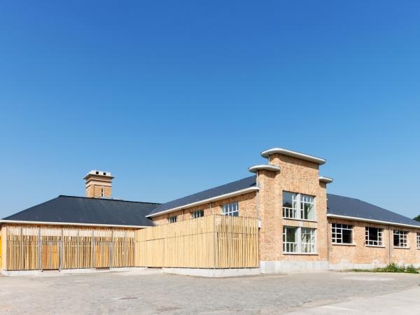 Les abattoirs rénovés (bâtiment central)