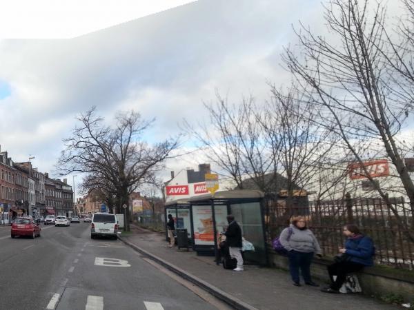 Avenue des Combattants - Situation existante
