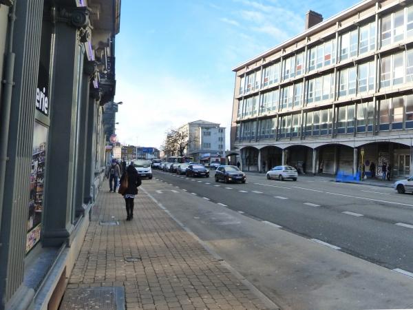 Boulevard Ernest Mélot - Situation existante