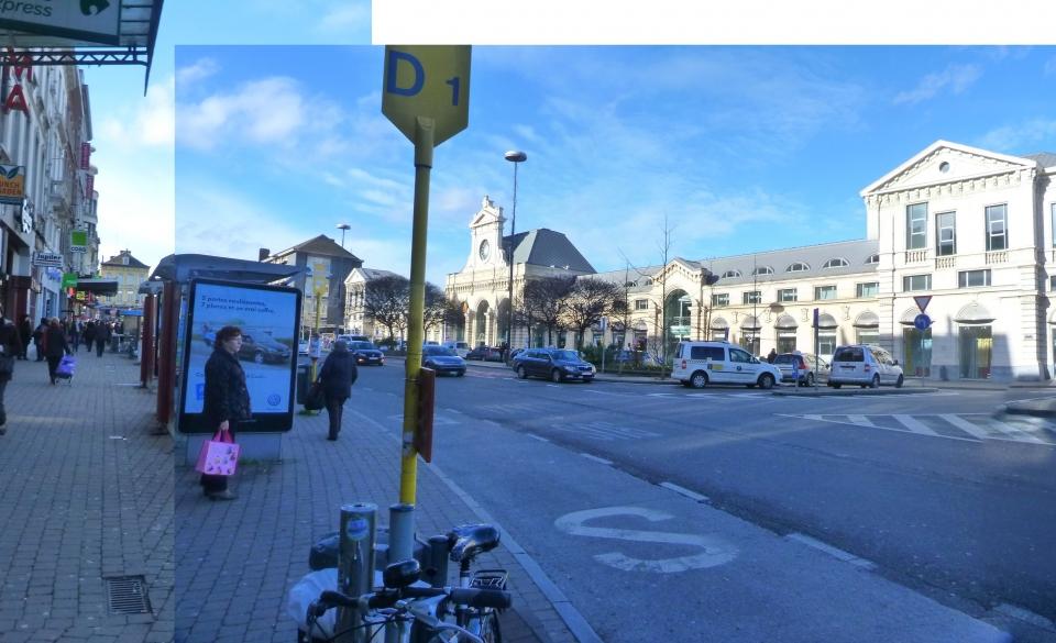 Place de la Station - Situation existante