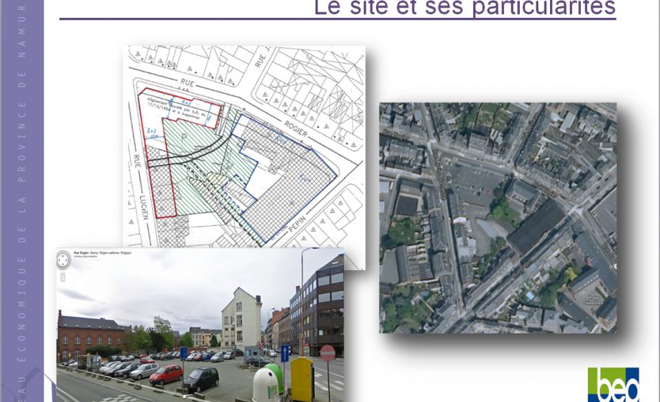 Espace Rogier divisé en 2 projets : Le Grand Manège et La cité des Métiers